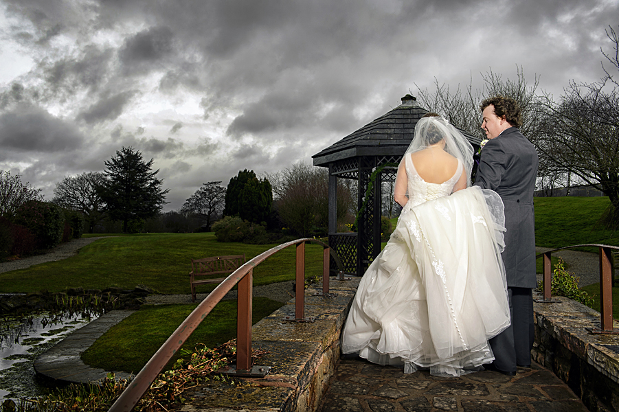 Salford hall wedding